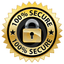 100% secure guaranteed