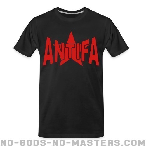 Antifa  - Anti-fascista Camiseta Organica