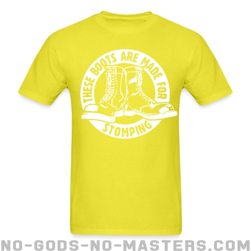 These boots are made for stomping - Skinhead Camiseta