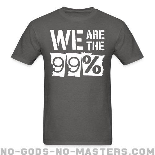 We are the 99% - Anónimos Camiseta