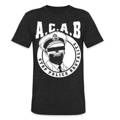 Camiseta Local Acab / Stop police brutality