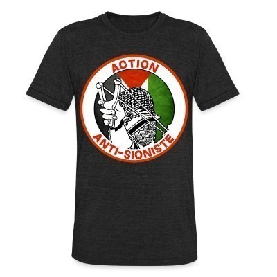 Camiseta Local Action anti-sioniste