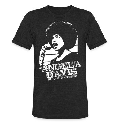 Camiseta Local Angela Davis black panther