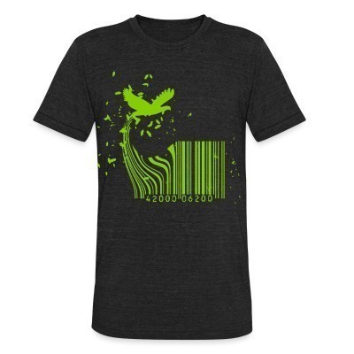 Camiseta Local Barcode Bird