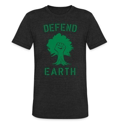Camiseta Local Defend earth