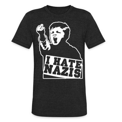 Camiseta Local I hate nazis