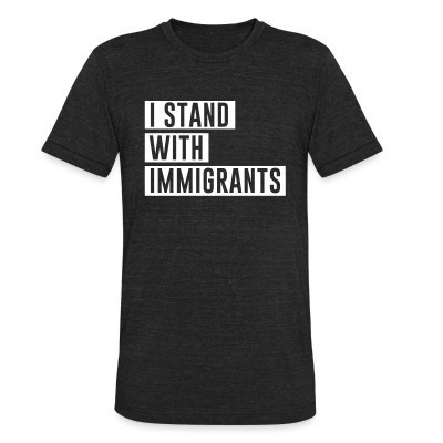 Camiseta Local I stand with immigrants