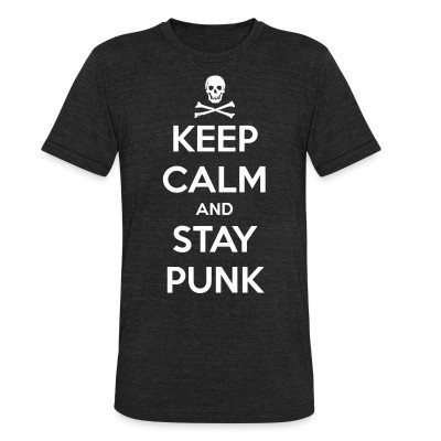 Camiseta Local Keep calm and stay punk
