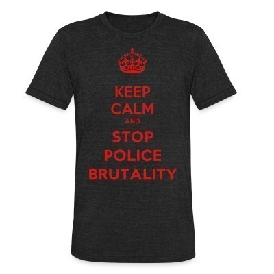 Camiseta Local Keep calm and stop police brutality