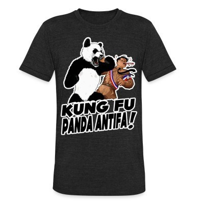 Camiseta Local Kung fu panda antifa!