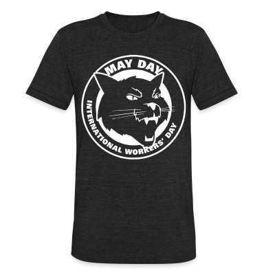 Camiseta Local May day international workers' day