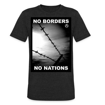 Camiseta Local No borders no nations