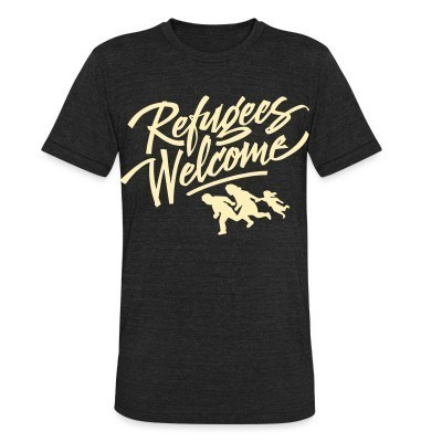 Camiseta Local Refugees Welcome
