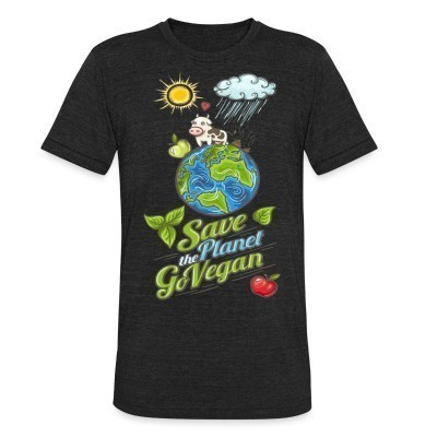 Camiseta Local Save the planet go vegan