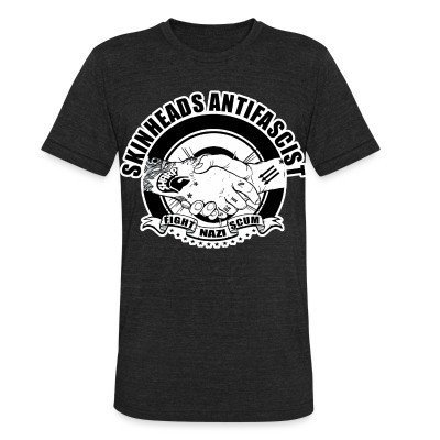Camiseta Local Skinheads antifascist - fight nazi scum
