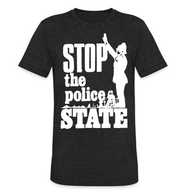 Camiseta Local Stop the police state