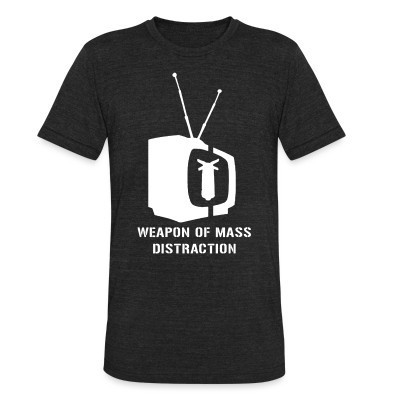 Camiseta Local Weapon of mass distraction