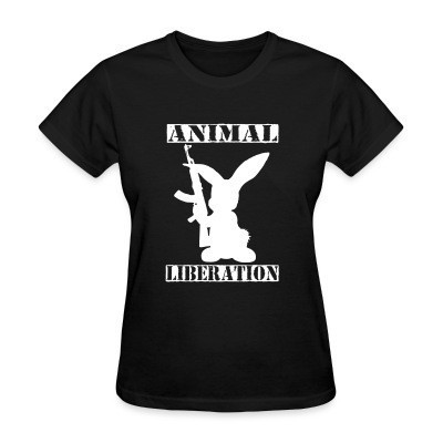 Camiseta Mujer Animal liberation