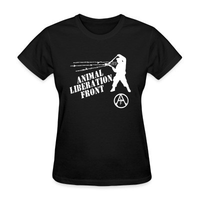 Camiseta Mujer Animal Liberation Front - ALF