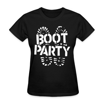 Camiseta Mujer Boot party
