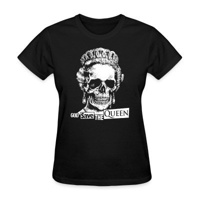 Camiseta Mujer God save the Queen
