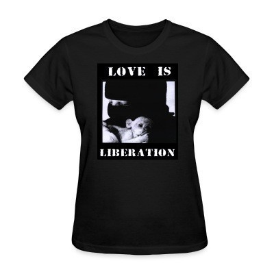 Camiseta Mujer Love is liberation