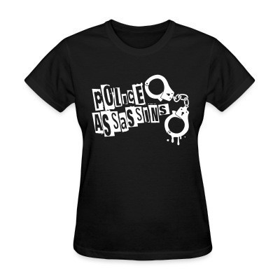 Camiseta Mujer Police assassins