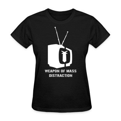 Camiseta Mujer Weapon of mass distraction