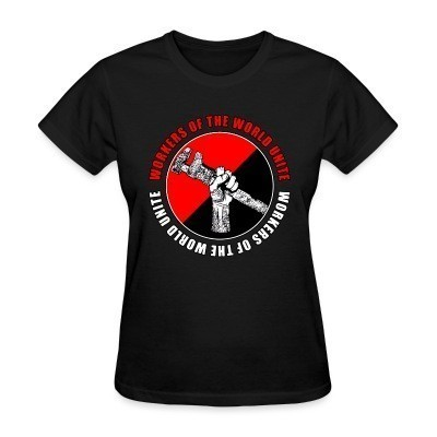 Camiseta Mujer Workers of the world unite
