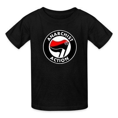 Camiseta Niño Anarchist action