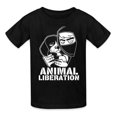 Camiseta Niño Animal liberation