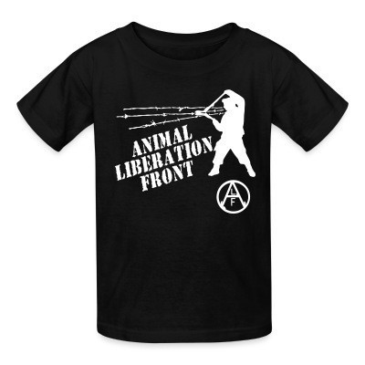 Camiseta Niño Animal Liberation Front - ALF