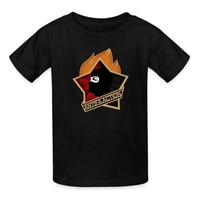 Camiseta Niño Antifa action