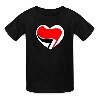 Camiseta Niño Antifa Love