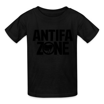 Camiseta Niño Antifa zone