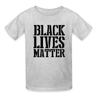 Camiseta Niño Black Lives Matter