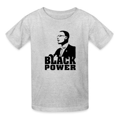 Camiseta Niño Black Power (Malcolm X)