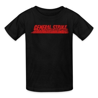 Camiseta Niño General strike