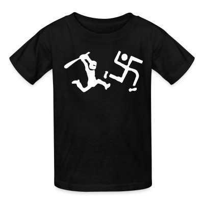 Camiseta Niño Run, nazi, run!