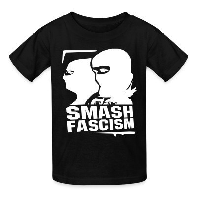 Camiseta Niño Smash fascism