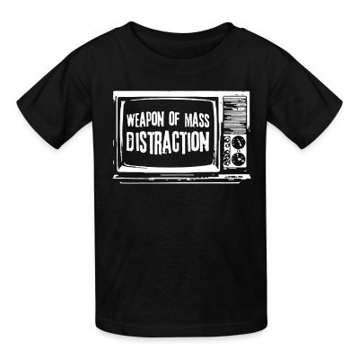 Camiseta Niño Weapon of mass distraction