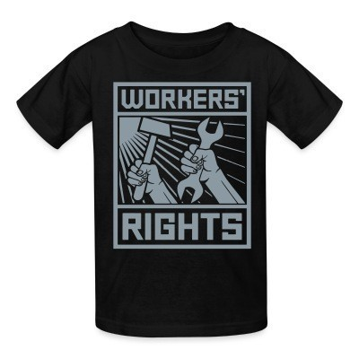 Camiseta Niño Workers' rights