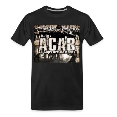 Camiseta Organica ACAB All Cops Are Bastards