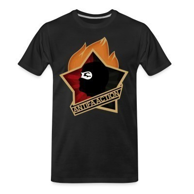 Camiseta Organica Antifa action