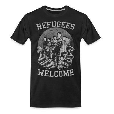 Camiseta Organica Refugees Welcome