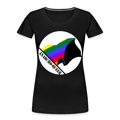 Camiseta Organica Mujer  Anarcho-queer
