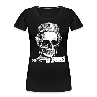 Camiseta Organica Mujer  God save the Queen