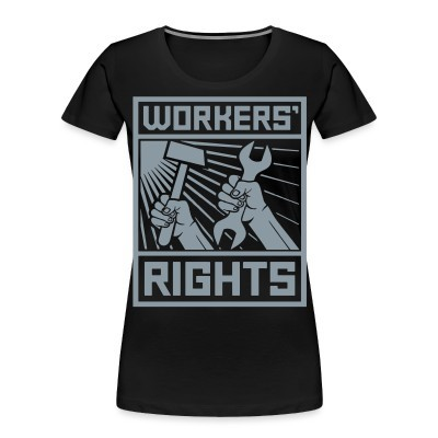Camiseta Organica Mujer  Workers' rights