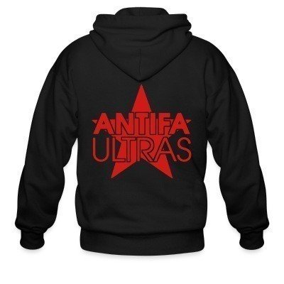 Capuche Zipper Antifa ultras