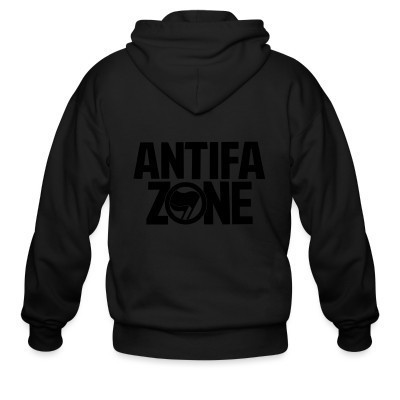 Capuche Zipper Antifa zone